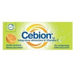 CEBION EFF VIT C S/ZUCCH 10CPR