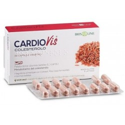 CARDIOVIS COLESTEROLO 60CPS VEG