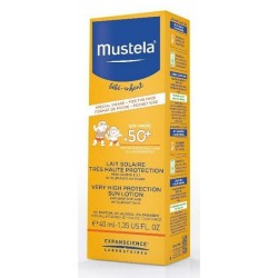 MUSTELA LATTE SOLARE VISO 50+