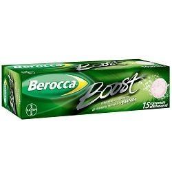 BEROCCA BOOST EFFERV 15CPR