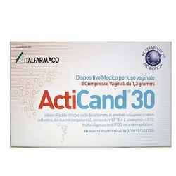 ACTICAND 30 8CRP VAGINALI - DISPOSITIVO MEDICO