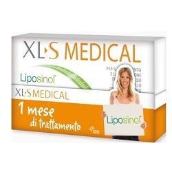 XLS MEDICAL LIPOSINOL 180CPS