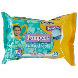 PAMPERS BABY FRESH SALVIETTE UMIDIFICATE