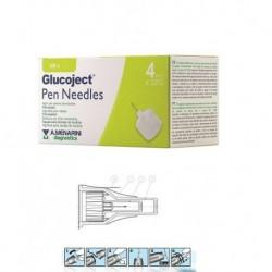 GLUCOJECT PEN NEEDLES  4MM G32 - DISPOSITIVO MEDICO
