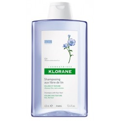 KLORANE SH FIBRE LINO VOLUM400ML