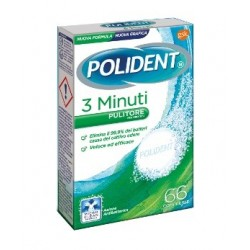 POLIDENT 3 MINUTI 66CPR - DISPOSITIVO MEDICO