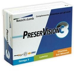 PRESERVISION 3 INTEGRATORE VISTA 30CPR