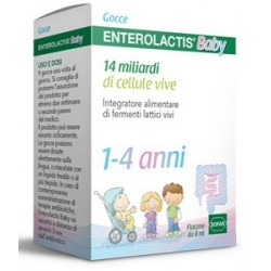 ENTEROLACTIS BAMBINI GOCCE 8ML FERMENTI LATTICI