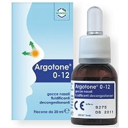 ARGOTONE-0/12 GTT NAS 20ML - DISPOSITIVO MEDICO
