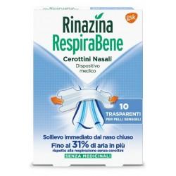 RINAZINA RESPIRABENE TRASP 10PZ - DISPOSITIVO MEDICO