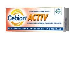 CEBION ACTIV 12CPR EFFERVESCENTI 4G