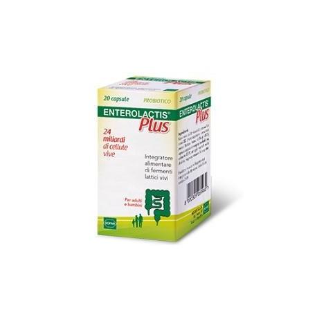 ENTEROLACTIS-PLUS 20 CPS
