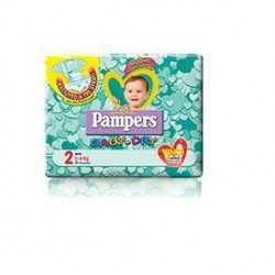 PAMPERS BABY DRY DWCT MINI MISURA 2 24PZ