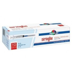 MASTERAID SIRINGA  5ML 10PZ - DISPOSITIVO MEDICO