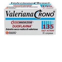 VALERIANA CRONO 30CPR 135MG