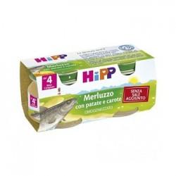 HIPP OMO MERLUZZO PATCAR 2X80