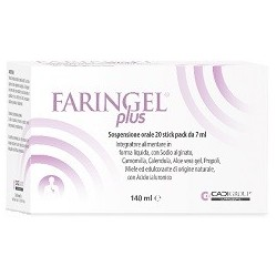 FARINGEL PLUS 20 STICKPACK 7ML