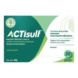 ACTISULF 600MG 30CPR MASTIC