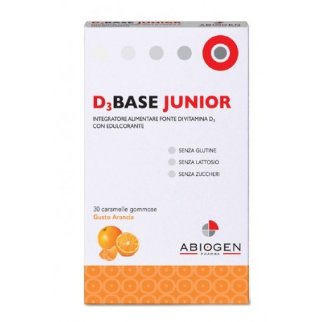 D3BASE JUNIOR 30 CAR ARANCIA