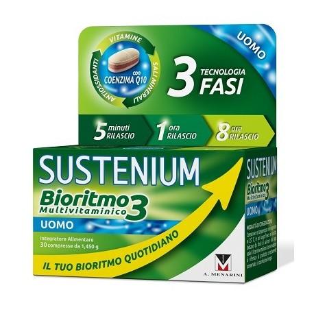 SUSTENIUM BIORITMO3 UOMO 30 CPR