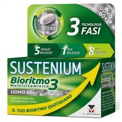 SUSTENIUM BIORITMO3 UOMO 60+ 30 CPR