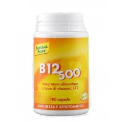 B12 CIANOCOBAL 500MCG NAT/POINT