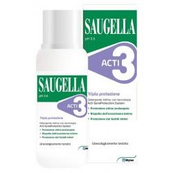SAUGELLA-ACTI3 DET 250ML