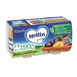 MELLIN-OMO PRUGNA/MELA 2X100