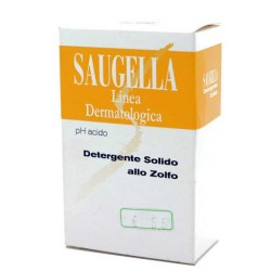 SAUGELLA SAPONE DETERGENTE SOLIDO ZOLFO