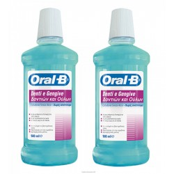ORAL-B DENTI E GENGIVE COLLUTTORIO  500ML BIPACCO
