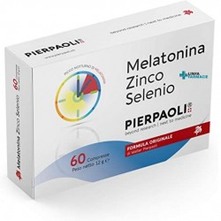 PIERPAOLI MELATONINA ZINCO -SELENIO 60 CPR