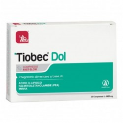 TIOBEC DOL INTEGRATORE ANTIOSSIDANTE 20CPR