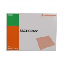 BACTIGRAS GARZA MEDICATA 10X10CM 10PZ - DMEDICO