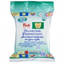 BABY SALVIETTINE TRUDI ANTIBATTERICHE 20PZ