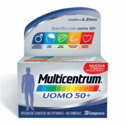 MULTICENTRUM UOMO 50+ MULTIVITAMINICO 30CPR