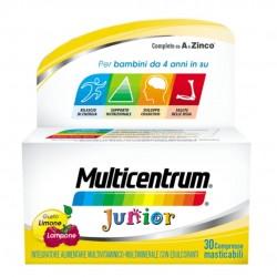 MULTICENTRUM JUNIOR MULTIVITAMINICO 30CPR