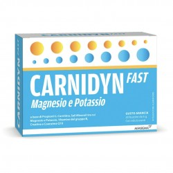 CARNDYN FAST PLUS MAGNESIO E POTASSIO ARANCIA 20 BUSTINE