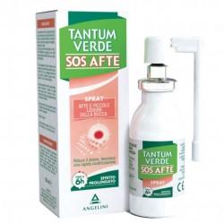TANTUM VERDE SOS AFTE SPRAY LESIONI DELLA BOCCA 20ML