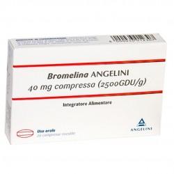 BROMELINA ANGENERICO INTEGRATORE MICROCIRCOLO 20CPR