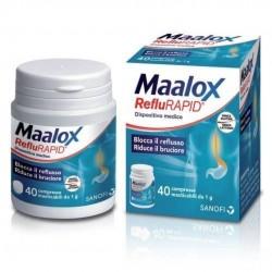 MAALOX REFLURAPID BRUCIORE E REFLUSSO STOMACO 40 COMPRESSE