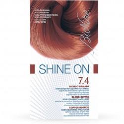 BIONIKE SHINE ON TINTURA CAPELLI BIONDO RAME 7.4