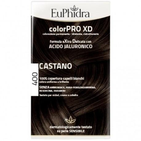 EUPHIDRA COLORPR XD TINTURA CAPELLI PERMANENTE 400 CASTANO