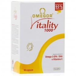 OMEGOR VITALITY 1000 OMEGA 3 CUORE E CIRCOLAZIONE 90CPS