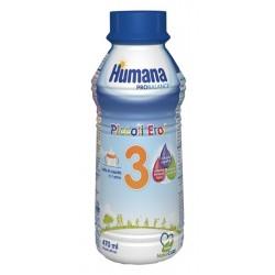 HUMANA 3 NATCARE LIQ 470ML 1 BOT