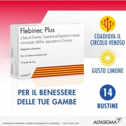 FLEBINEC PLUS INTEGRATORE BENESSERE GAMBE 14BST