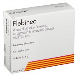 FLEBINEC INTEGRATORE TONO VENOSO E DRENAGGIO LINFATICO 14BST