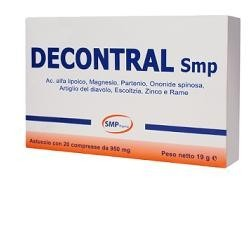 DECONTRAL INTEG 20CPR 850MG