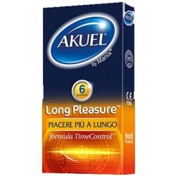 AKUEL BY MANIX LONG PLEASURE 6PZ - DISPOSITIVO MEDICO