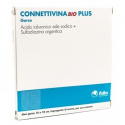 CONNETTIVINABIO PLUS GARZA 10PZ - DISPOSITIVO MEDICO