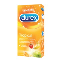 DUREX PROFIL TROPICAL EASYON 6PZ - DISPOSITIVO MEDICO